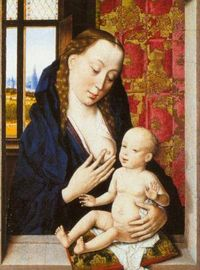 Dieric_bouts_the_elder_XX_the_virgin_nursing_the_child_1460